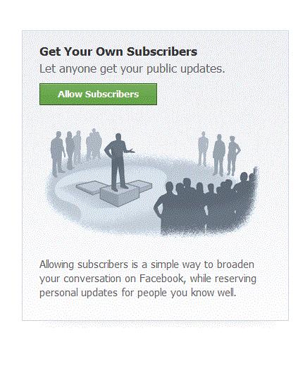 Subscribers Facebook
