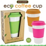 porcelain eco coffee cup