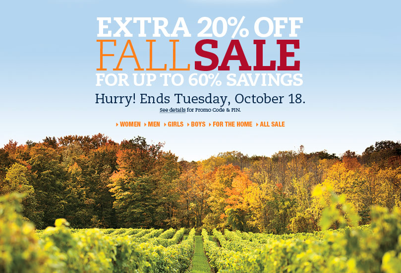 Lands' End coupons!  Expire on 10/18/2011