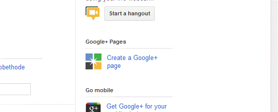 Tutorial :  Adding a Business Page to your Google+ Account