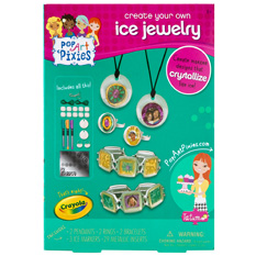 Pop Art Pixies Ice Jewelry