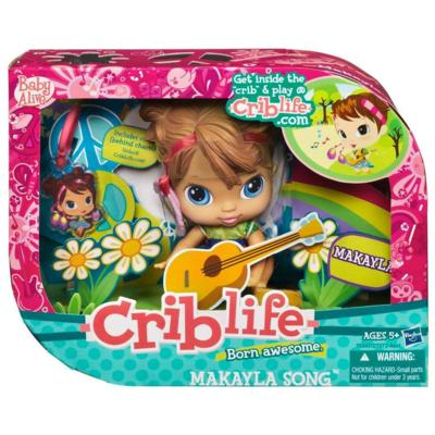 Crib Life Makayla Song Doll Review Tobethode