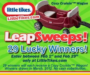 Win Little Tikes Wagon