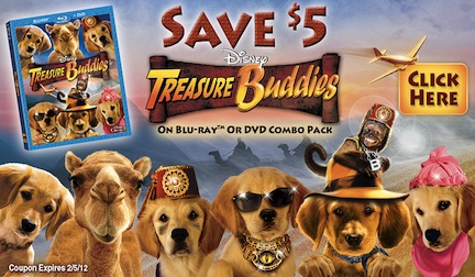 Treasure Buddies Coupon