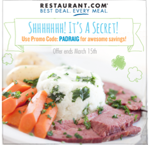 Restaurant.com deal!  $25 gift certificates for only $4!!