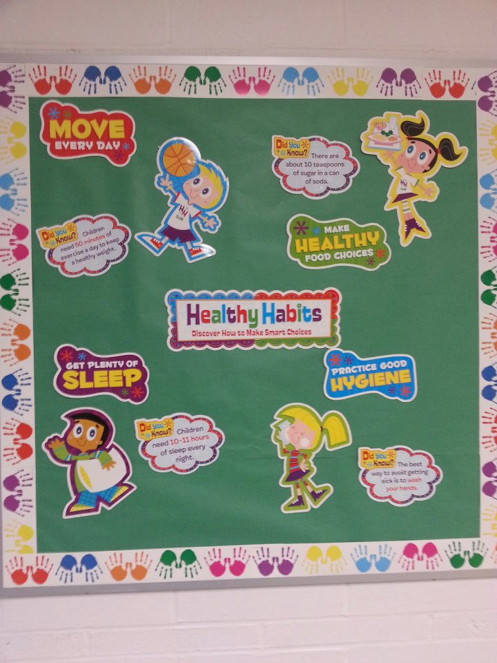 school nurse bulletin board 1