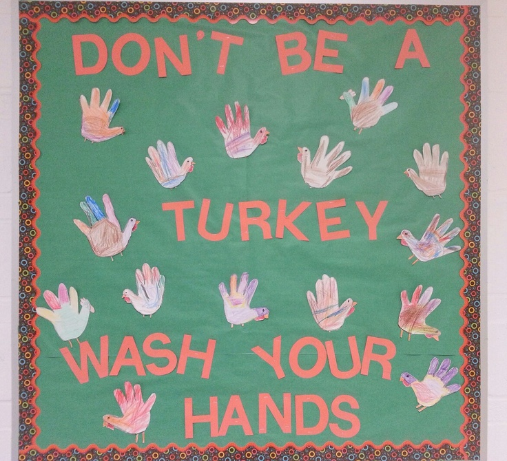 november school nurse bulletin board