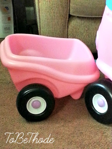 Little Tikes Pink Baby Doll Bed