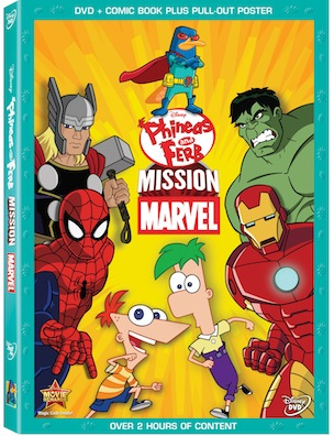 Phineas and Ferb Mission Marvels is available NOW!