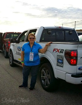 EcoBoost truck driving