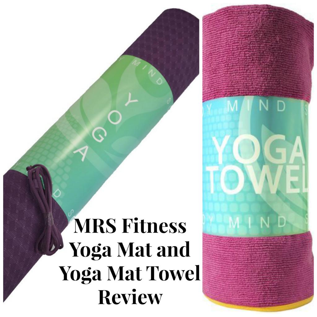 yoga towel and mat