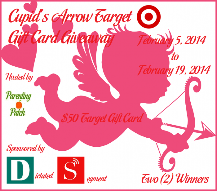 Cupid's Arrow Target Gift Card Giveaway