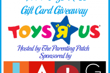 2014-04-03 In the News April Showers $100 ToysRUs Gift Card Giveaway