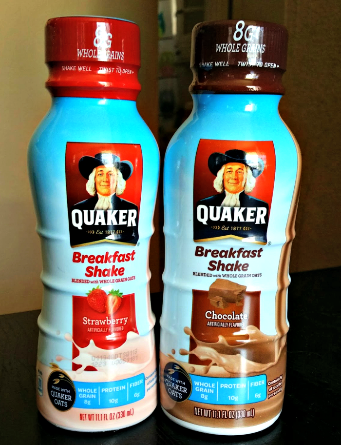 Quaker Breakfast shake