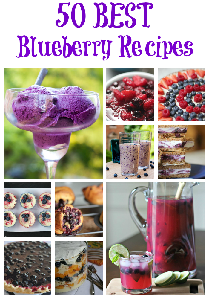 50 Best Blueberry Recipes!