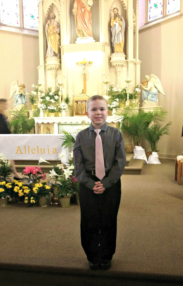 Johnny First Communion