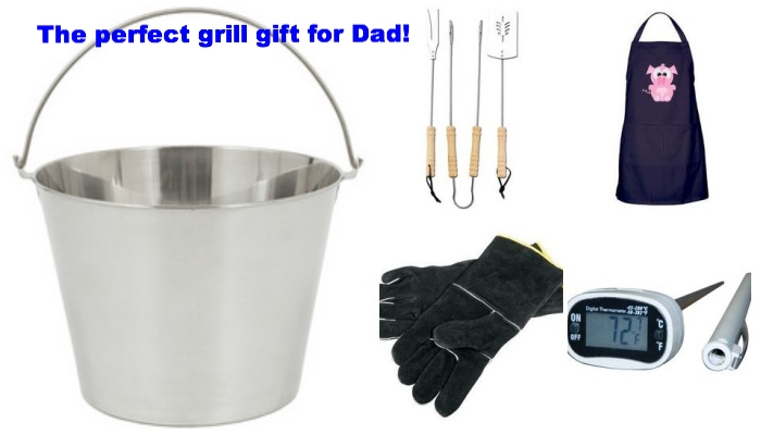 Put together a grill gift for Dad!