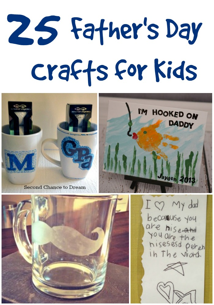Fathers Day Crafts For Kindergarten