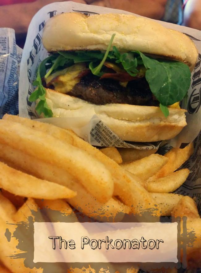 Porkonator burger