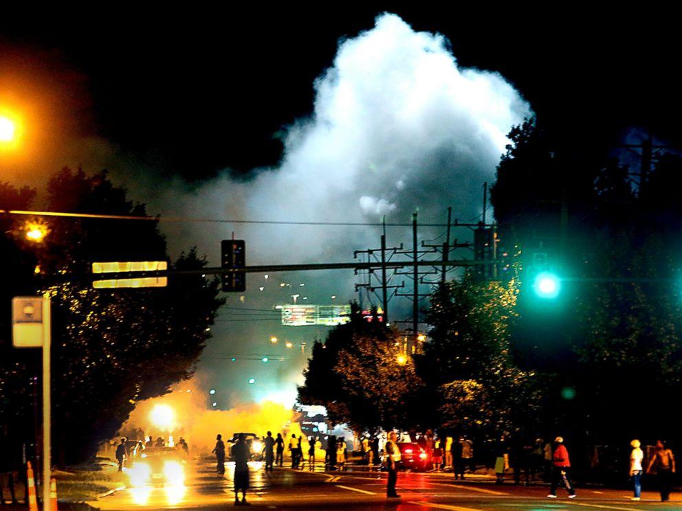 #ferguson tear gas