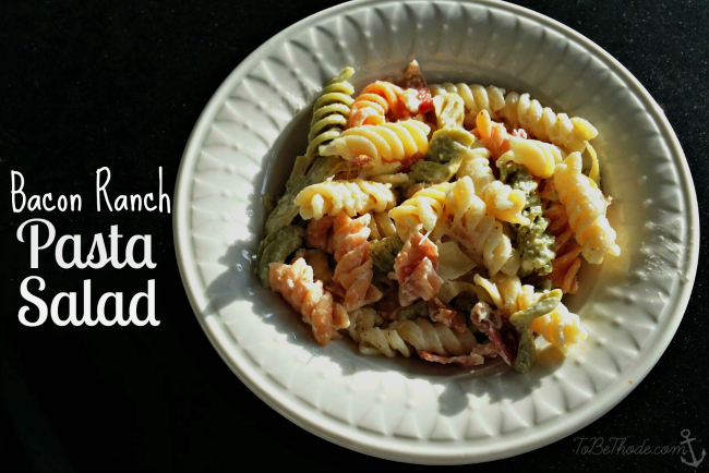 Bacon Ranch Pasta Salad Recipe Tobethode