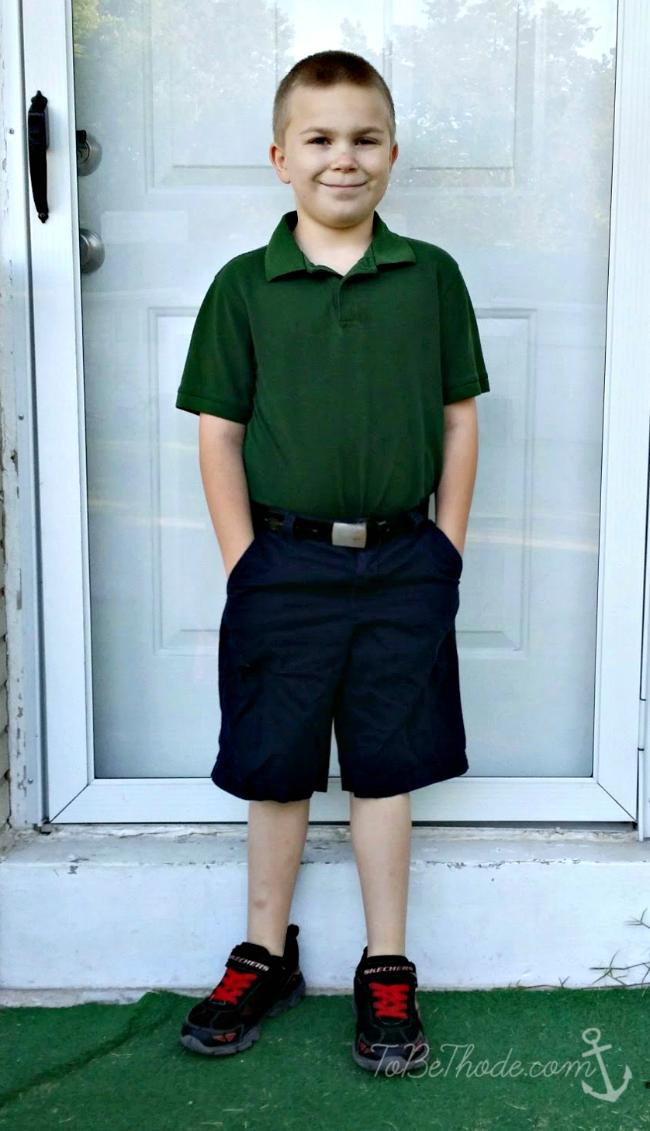 Johnny third grade