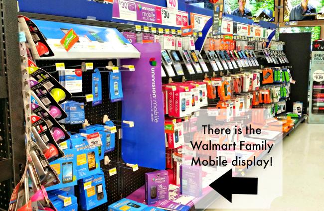 Walmart Family Mobile aisle #shop
