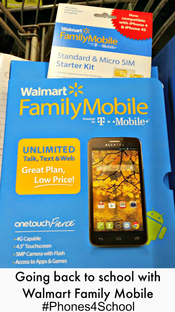 Walmart Family Mobile for Back to School #shop