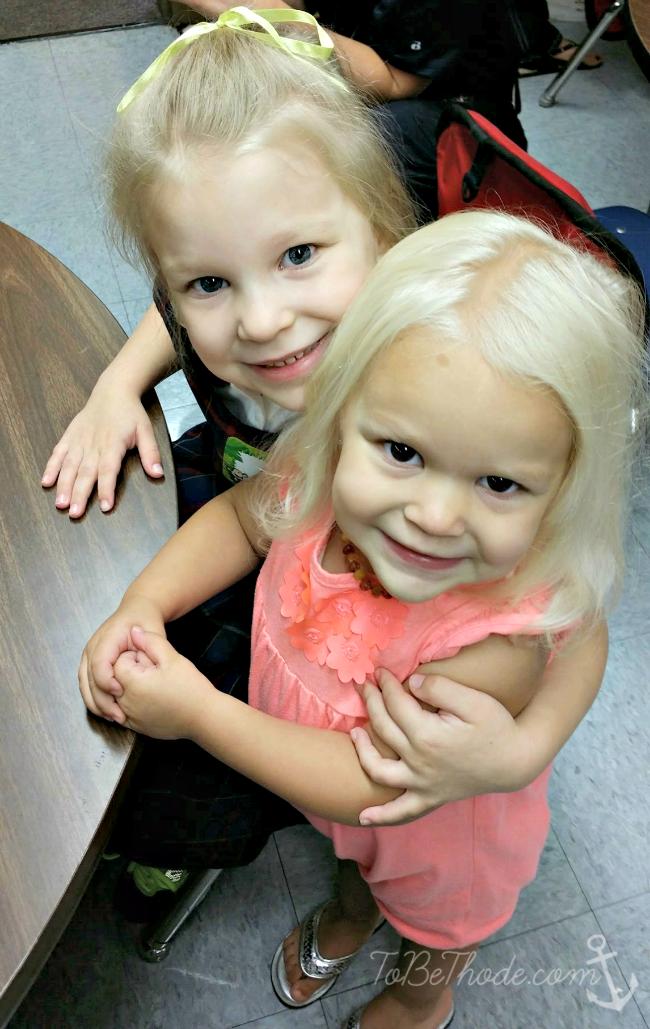 girls first day of school