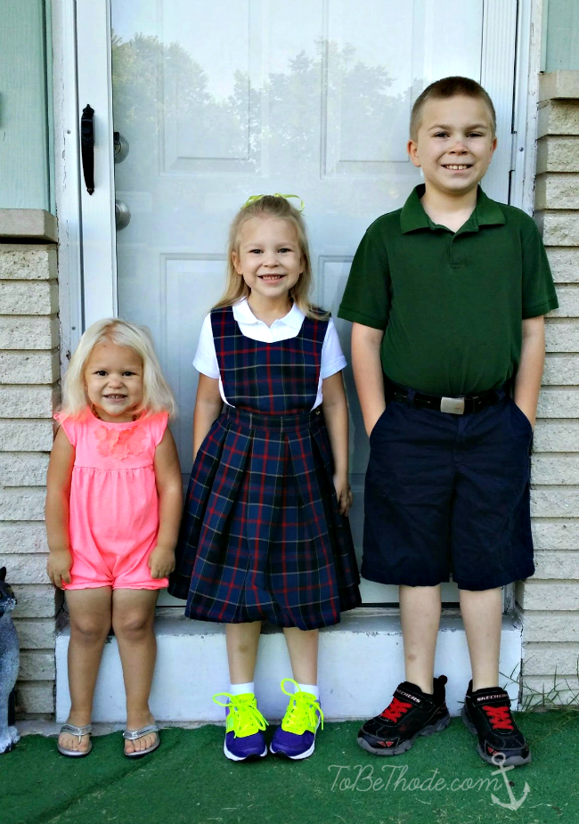 kids first day school