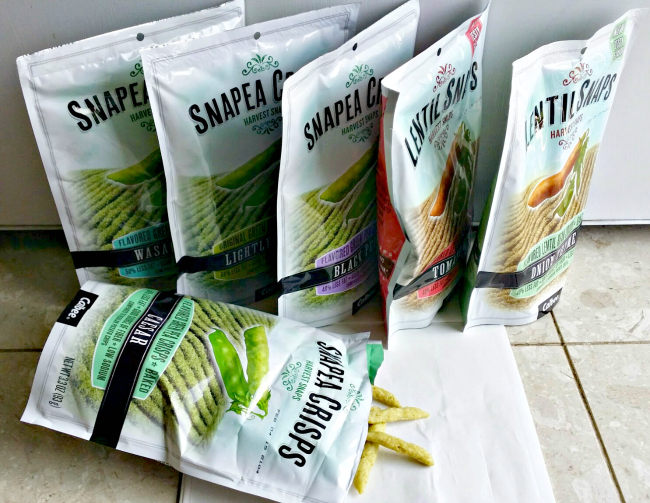 Harvest Snaps: the healthier alternative for snacking (plus giveaway)