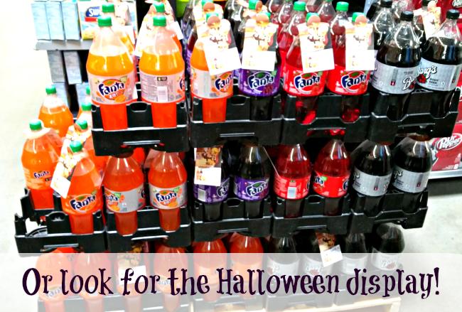 fanta halloween display