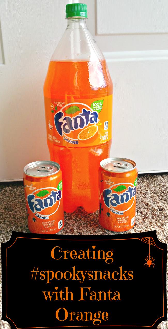 fanta orange snacks