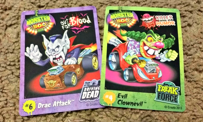 monster 500 cards