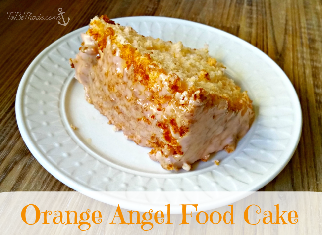 Easy Angel Food Cake Frosting Recipe