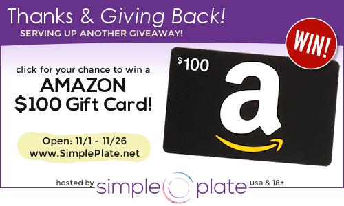 amazon giving back giveaway