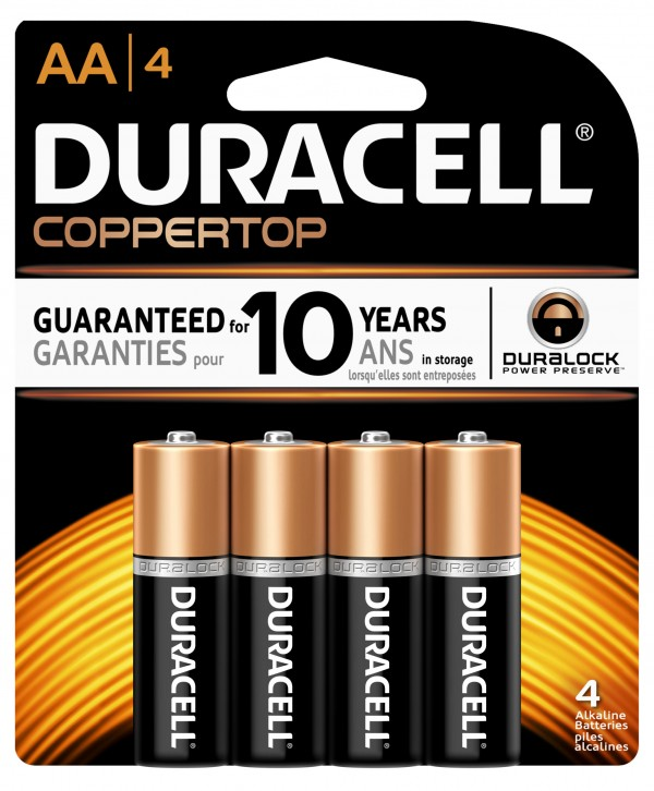 duracell 4 pack