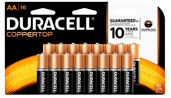 duracell 16 pack