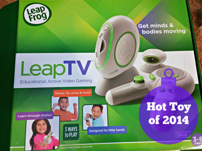 Having fun while learning with LeapTV