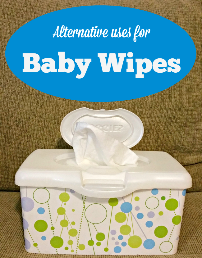 alternative uses baby wipes