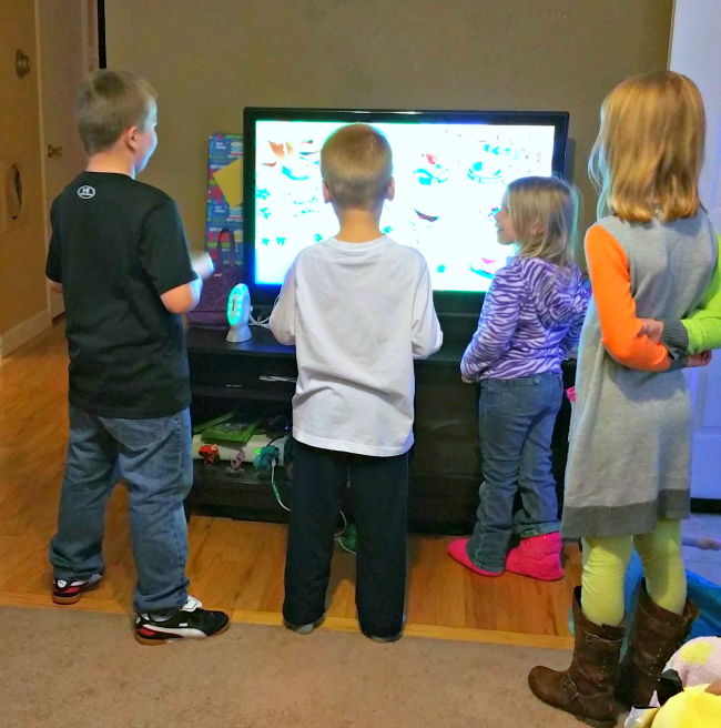 kids leaptv party