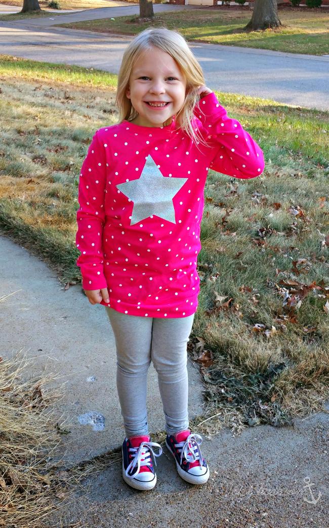 oshkosh star shirt leggings