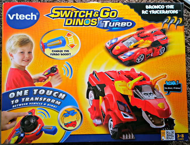 VTech Switch and Go Dinos Turbo is remote control fun for kids