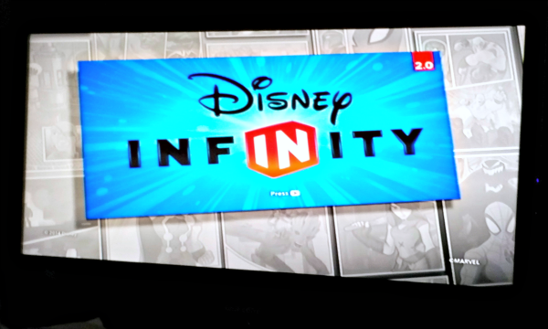 disney infinity screen