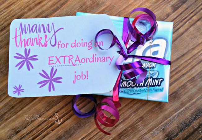 extra gum thanks