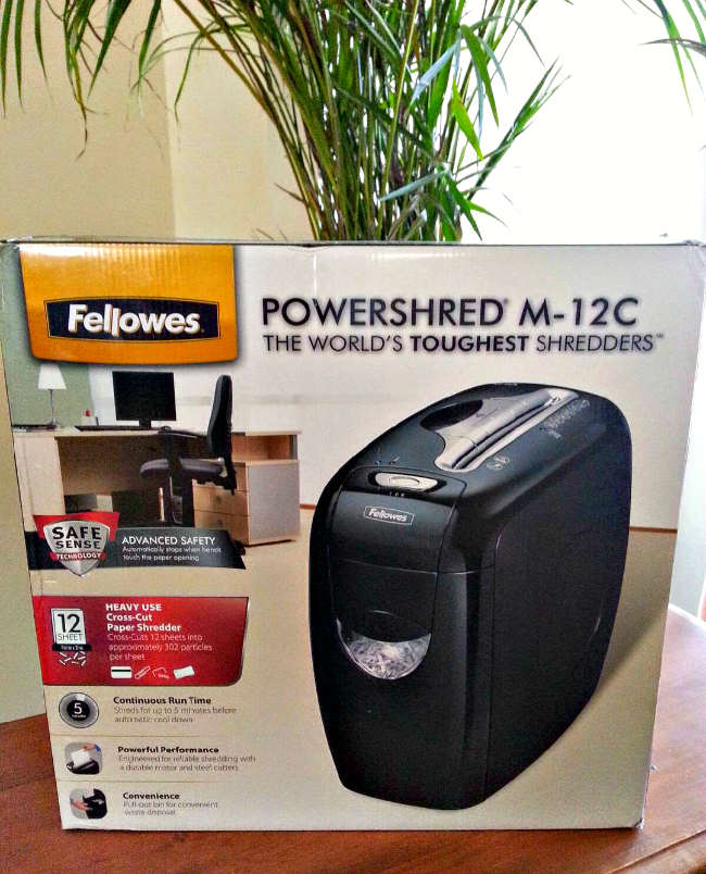fellowes m12c