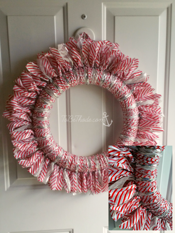 Easy Ribbon Wreath For Any Holiday Tobethode