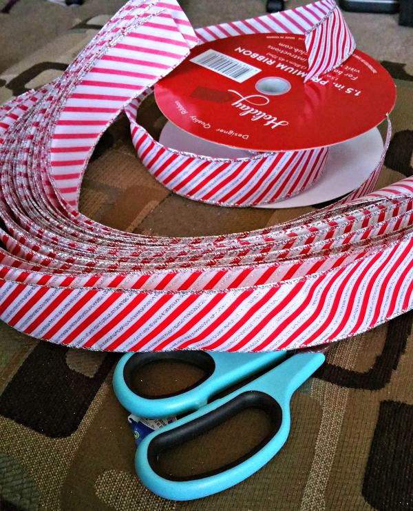 ribbon wreath supplies