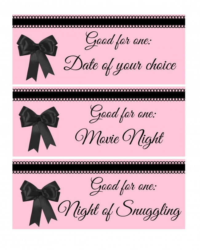 Valentines Day Love Coupon Book For Adults  Tobethode