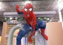 spiderman at lego kidsfest